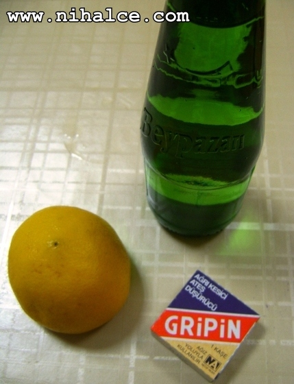 Soda, Gripin, Limon
