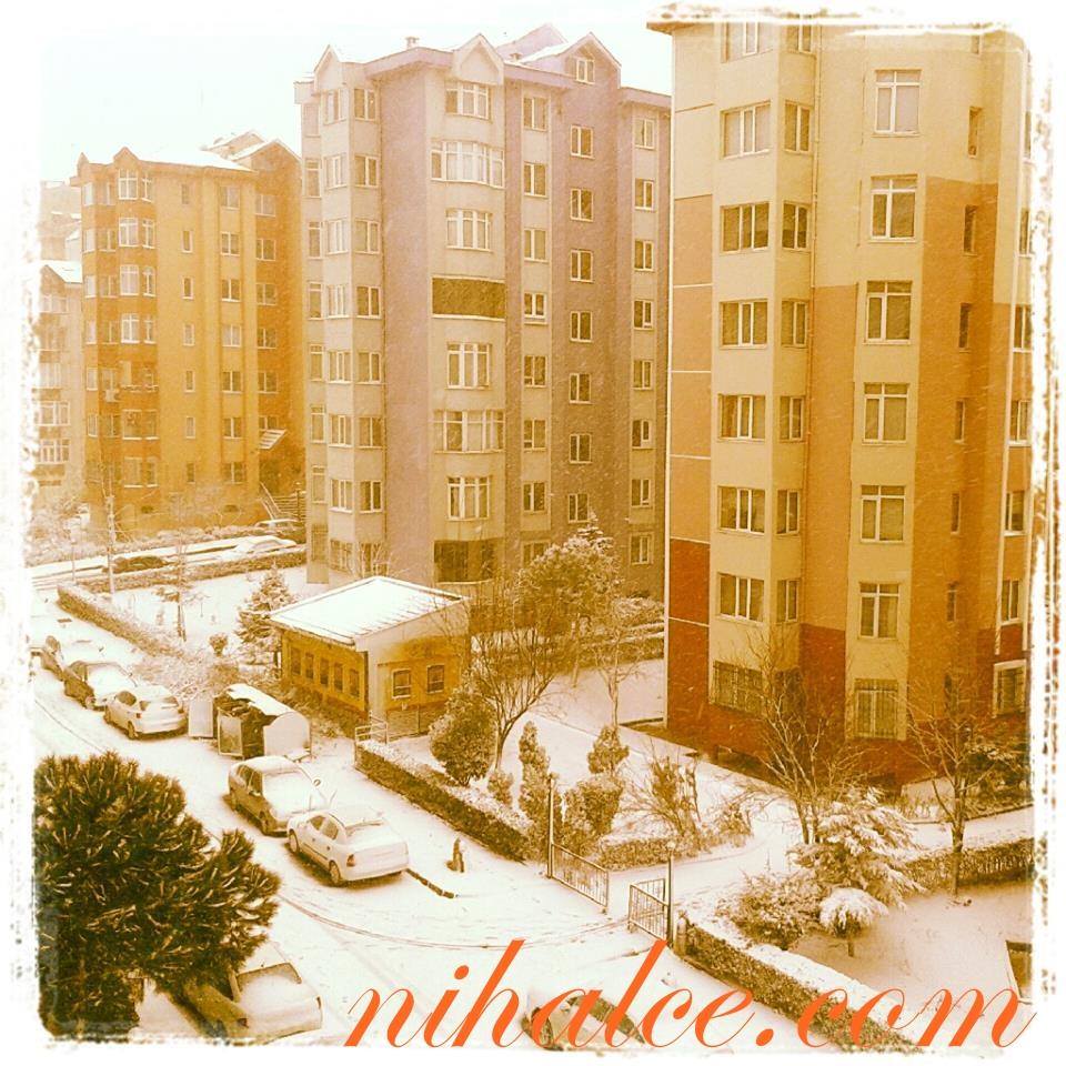 İstanbul Karlar Altında!