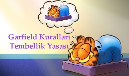 Garfield Kuralları Tembellik Yasası
