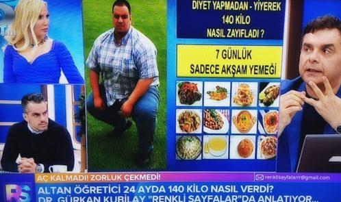 Altan Öğretici 24 Ayda Nasıl 140 Kilo Verdi?