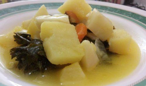Portakal Sulu Zeytinyağlı Kereviz Yemeği