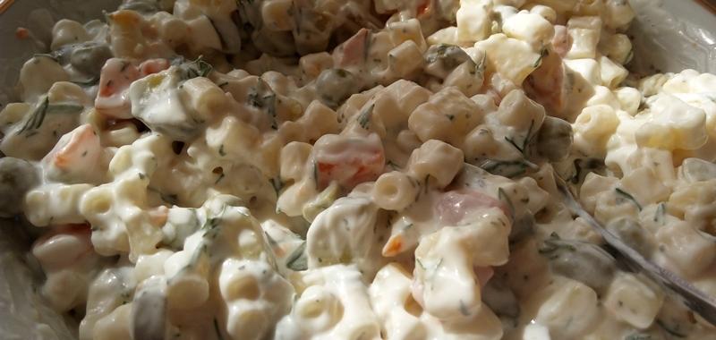 Garnitürlü Makarna Salatası Tarifi